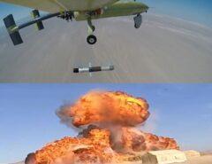 موشک الماس از پهپاد ابابیل شلیک شد /انجام عملیات پهپادی برد بلند از سواحل مکران