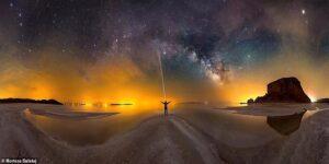 از ایران تا کالیفرنیا؛ تصاویر زیبای عکاس ایرانی از آسمان شب در سرتاسر دنیا