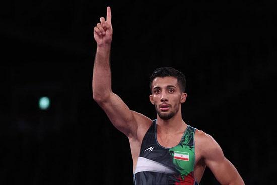 محمدرضا گرایی، قهرمان المپیک شد