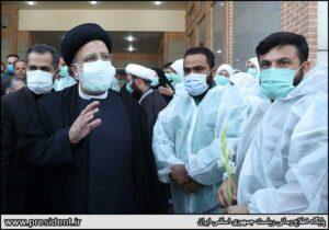 رئیسی در اولین روز دولت جدید به بهشت زهرا رفت
