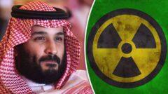 ذخایره ۹۰,۰۰۰ تنی و کافی اورانیوم در عربستان سعودی برای تولید سلاح هسته ای