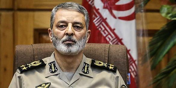 پاسخ فرمانده کل ارتش به تهدید هدف قرار گرفتن ۵۲ نقطه ایران توسط آمریکا