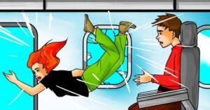 اگر پنجره هواپیما حین پرواز بشکند چه اتفاقی می افتد؟