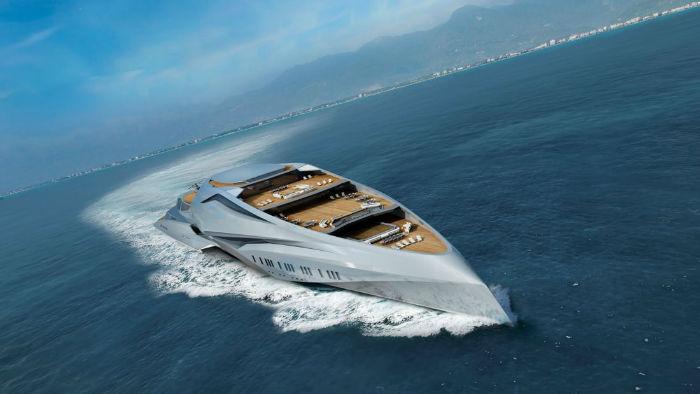بزرگ ترین قایق تفریحی جهان آینده«والکایری»