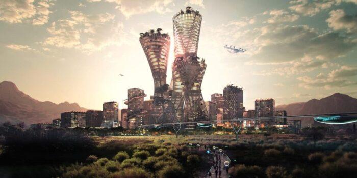 ساخت یک شهر ۴۰۰ میلیارد دلاری جدید در بیابان های آمریکا