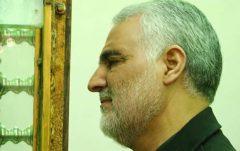 فیلم تصاویر دیده نشده از حاج قاسم در حرم رضا
