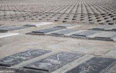 قبرهای اضطراری در بهشت زهرا