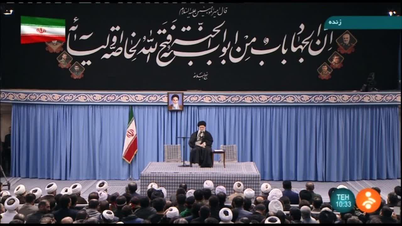 معنی حدیث نصب شده در حسینیه امام خمینی(ره)